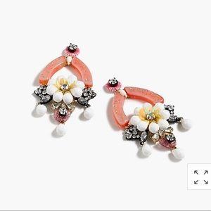 J.Crew Floral Earrings